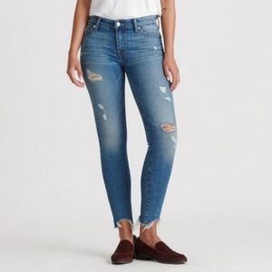 Lucky Brand Ava mid rise skinny jeans NWT